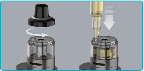 mettre e liquide kit luxe 80s vaporesso