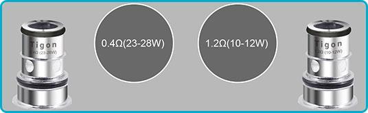 kit tigon 2600 mah aspire resistance