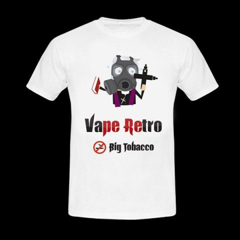 t-shirt vape retro