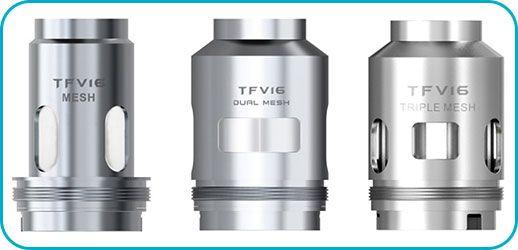 tfv16 resistances smok