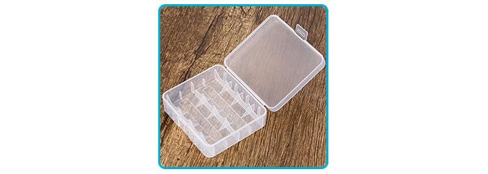 boite de protection pour accus 18650 26650