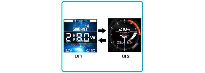 interface utilisateur box smoant cylon tc 218