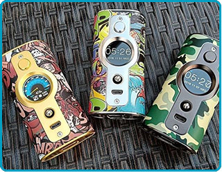 Box Mod VK530 Vsticking YiHi graffiti