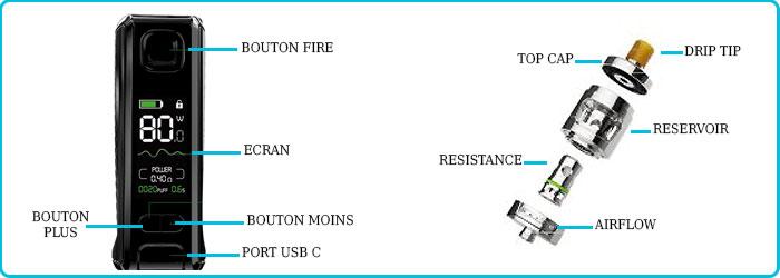 Notice utilisation kit istick s80 eleaf