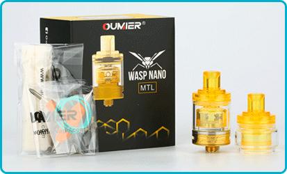 Wasp Nano MTL Coffret Oumier
